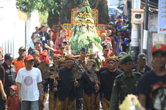 Javanese traditional ceremony Royalty Free Stock Photos