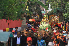 Javanese traditional ceremony Royalty Free Stock Images