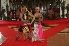 Javanese traditional dance Royalty Free Stock Image