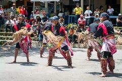 Javanese traditional dancers, Indonesia Stock Photo