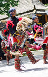 Javanese traditional dancers Royalty Free Stock Photography
