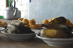 Traditional food. Javanese traditional food royalty free stock photo