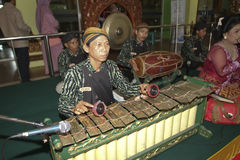 Javanese traditional  music Stock Photo