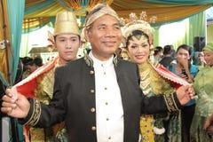 Javanese-traditionelle Hochzeit Lizenzfreies Stockbild