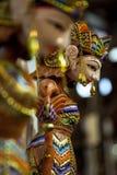 Javanese Wayang Golek Photo stock