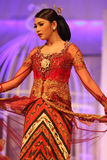 Javanese wedding clothes Royalty Free Stock Photography