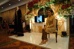 Javanese wedding dress Stock Photography