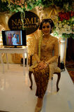 Javanese wedding dress Royalty Free Stock Photos