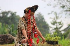 JavaneseCirebon dans Arkivfoton