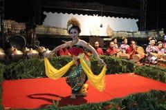JavaneseGambyong dans Royaltyfri Fotografi
