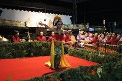 JavaneseGambyong dans Arkivbilder