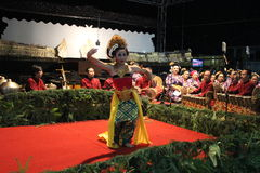 JavaneseGambyong dans Arkivfoton