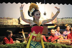 JavaneseGambyong dans Royaltyfri Bild
