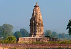 Javari świątynia w Khajuraho Zdjęcie Stock