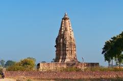 Javari świątynia w Khajuraho Zdjęcia Royalty Free