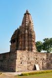 Javari świątynia w Khajuraho Zdjęcia Stock