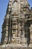 JAVARI TEMPLE, Entrance Arch - Makara Torana, Eastern Group, Khajuraho, Madhya Pradesh, UNESCO World Heritage Site royalty free stock photos