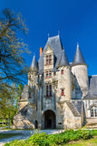 Javarzay Castle in Chef-Boutonne - Deux-Sevres, France Royalty Free Stock Image