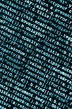 JavaScript code in text editor. Coding cyberspace concept. Screen of web developing code. JavaScript code in text editor. Coding cyberspace concept. Screen of royalty free stock photo
