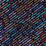Javascript functions, variables, objects. Monitor closeup of function source code. IT specialist workplace. Big data and Internet of things trend. HTML website stock photography