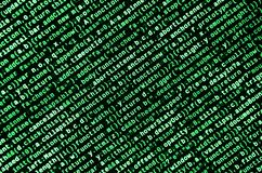 Javascript functions, variables, objects. Monitor closeup of function source code. IT specialist workplace. Big data and Internet of things trend. HTML website stock images