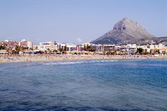 Javea - Alicante province- Spain Royalty Free Stock Photography