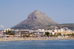 Javea - Alicante province- Spain Royalty Free Stock Photos