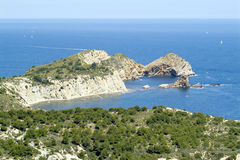 Javea, Blanca Косты. Alicante, Испания Стоковое Фото
