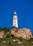 Javea Cabo La Nao Lighthouse Mediterranean Spain Royalty Free Stock Images