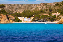 Javea Cala Granadella beach Xabia in Alicante Spain Stock Photos