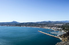 Javea from Cape san antonio Stock Images