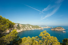 Javea coastline Stock Photography