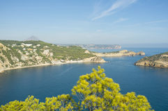 Javea coastline Royalty Free Stock Photos