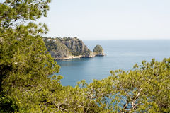 Javea, Costa Blanca. Alicante, Spain Royalty Free Stock Photography