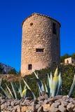 Javea denia San antonio Cape old windmills masonry structure Royalty Free Stock Photography