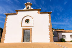 Javea Ermita del Calvario at Xabia Alicante in Spain Stock Photo