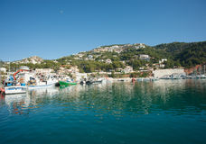 Javea harbor Royalty Free Stock Photos