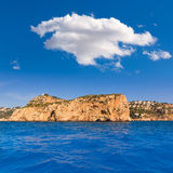 Javea Isla del Descubridor Xabia in Alicante Stock Images