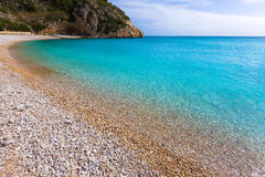 Javea La Granadella beach in Xabia Alicante Spain Royalty Free Stock Image