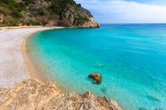 Javea La Granadella beach in Xabia Alicante Spain Royalty Free Stock Images