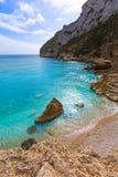 Javea La Granadella beach in Xabia Alicante Spain Royalty Free Stock Photography