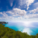 Javea La Granadella castle Mediterranean Spain Royalty Free Stock Photo