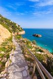 Javea Playa Ambolo beach Xabia in Alicante Royalty Free Stock Photo
