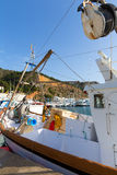 Javea Xabia fisherboats in port at Alicante Spain Royalty Free Stock Image