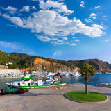 Javea Xabia marina Club Nautico in Alicante Spain Stock Photography