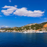 Javea Xabia marina Club Nautico in Alicante Spain Stock Photo