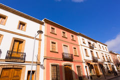 Javea Xabia old town streets in Alicante Spain Royalty Free Stock Photography