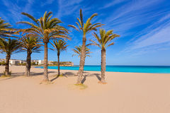Javea Xabia playa del Arenal in Mediterranean Spain Stock Photos