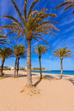 Javea Xabia playa del Arenal in Mediterranean Spain Royalty Free Stock Photography