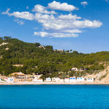 Javea Xabia Playa la Barraca Portichol Alicante Spain Stock Photos